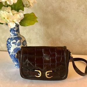 Ann Taylor small brown purse - Excellent cond